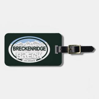 Breckenridge Colorado Rocky Mountain BRECK Luggage Tag