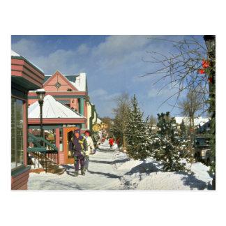 Breckenridge, Colorado, U.S.A. Winter Postcard
