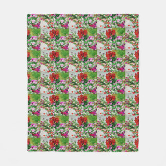 Breckenridge Flowers Fleece Blanket