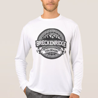 Breckenridge Grey Logo T-Shirt