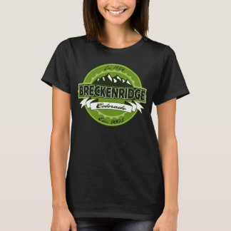 Breckenridge Label Green Logo T-Shirt