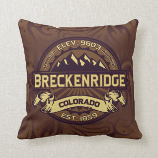 Breckenridge Logo Pillow