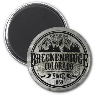 Breckenridge Old Radial Magnet
