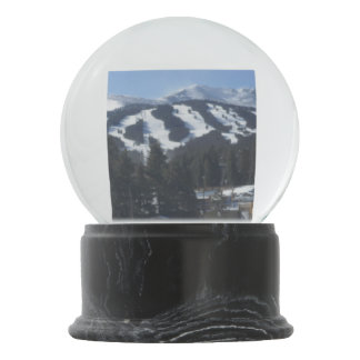 Breckenridge Ski Area Snow Globe