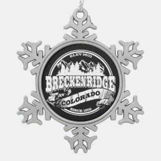 Breckenridge Snowflake Ornament