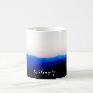 Breckenridge Ten Mile Range Sunset Coffee Mug