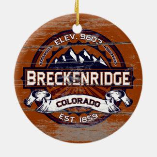 Breckenridge Vibrant Old Paint Ceramic Ornament