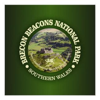 Brecon Beacons National Park (Carreg Cennen) Poster
