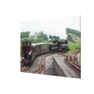 Brecon Mountain Railway, Wales 2 Canvas Print