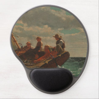 Breezing Up (A Fair Wind) by Winslow Homer Gel Mouse Pad