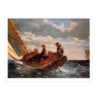 Breezing Up by Winslow Homer Postcard