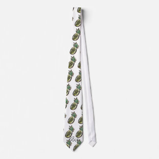 Breezy Beach Wear Aloha Pineapple Neck Tie