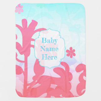 Breezy Bracken Baby Customizable Receiving Blanket