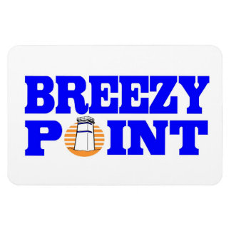 Breezy Point Car Magnet