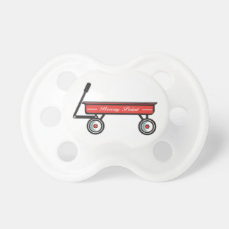 Breezy Point Little Red Wagon Pacifier