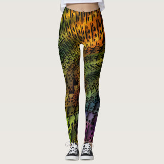 BREEZY TILES LEGGINGS