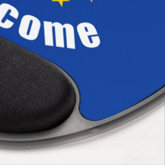 Brefugees Welcome Gel Mouse Pad