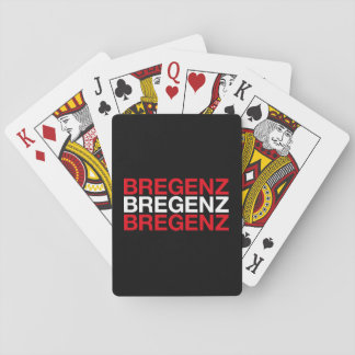 BREGENZ PLAYING CARDS