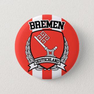Bremen 6 Cm Round Badge