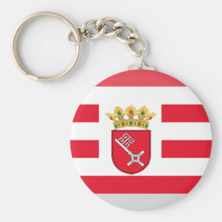 Bremen Flag Gem Key Chain