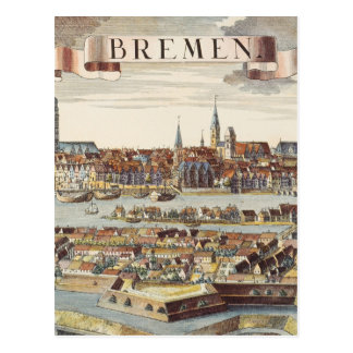 Bremen, Germany, 1719 Postcard