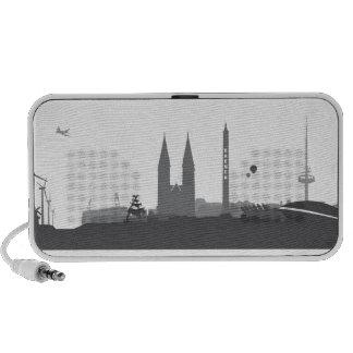 Bremen skyline mini loudspeakers iPod speaker