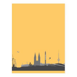 Bremen skyline postcard
