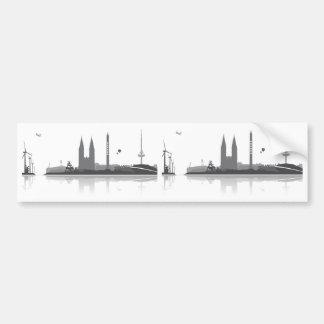 Bremen skyline stickers