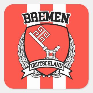 Bremen Square Sticker