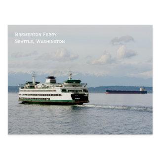 Bremerton Ferry Postcard
