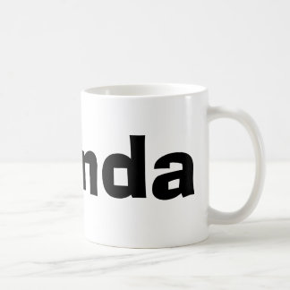 Brenda Basic White Mug