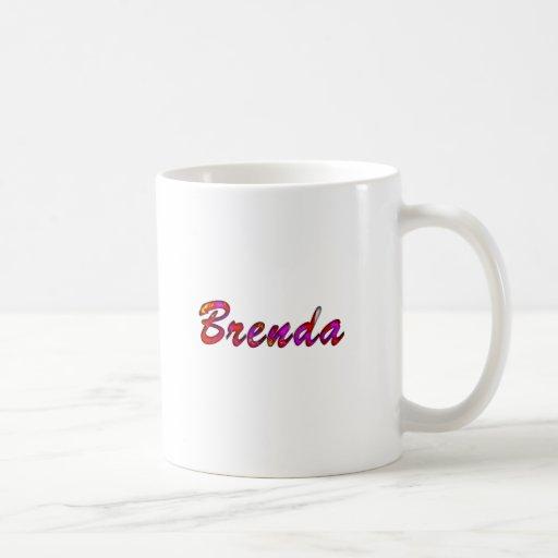 Brenda Classic White Mug