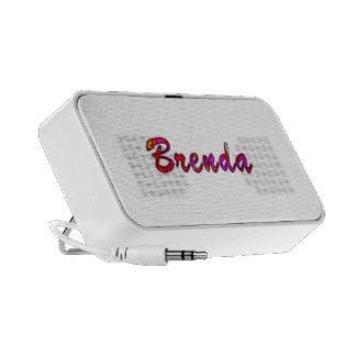 Brenda doodle speaker