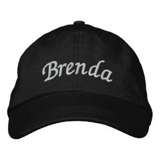 Brenda Embroidered Baseball Caps