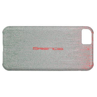 Brenda iPhone 5 cover with red stains