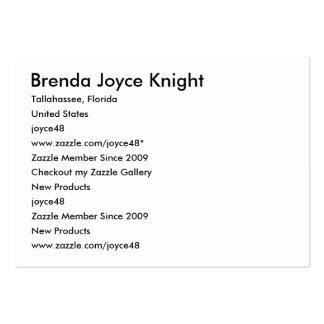 Brenda Joyce Knight, Tallahassee, Florida, Unit... Business Cards