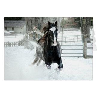 Brenda Lee Running Winter Card