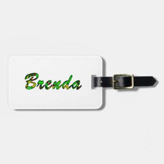 Brenda Luggage Tags