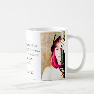 Brenda Classic White Coffee Mug