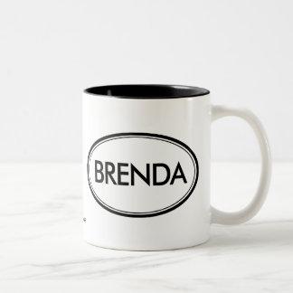 Brenda Two-Tone Coffee Mug