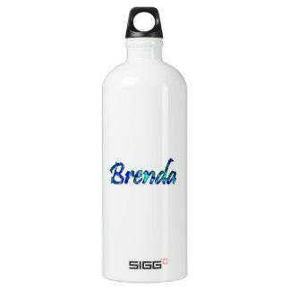 Brenda white SIGG traveller 1.0L water bottle