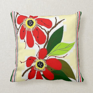 BRENDA'S FLORAL ACCENT PILLOWS