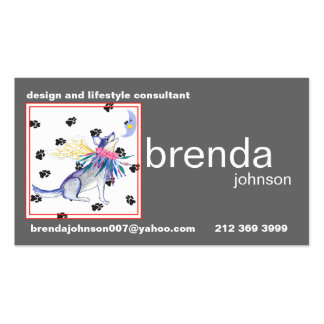 Brenda's New Business Card