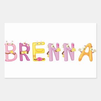 Brenna Sticker