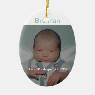 Brennan Ceramic Ornament