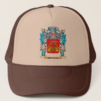 Brennan Coat of Arms Trucker Hat