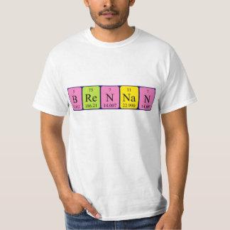 Brennan periodic table name shirt