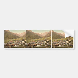 Brenner Railway Gossensass Tyrol Austro-Hungary Bumper Stickers