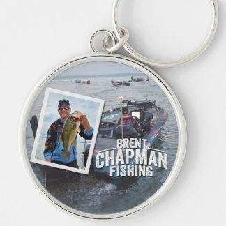 Brent Chapman Bass Fishing Tournament Photo Key Chain