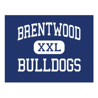 Brentwood Bulldogs Middle Charleston Postcard